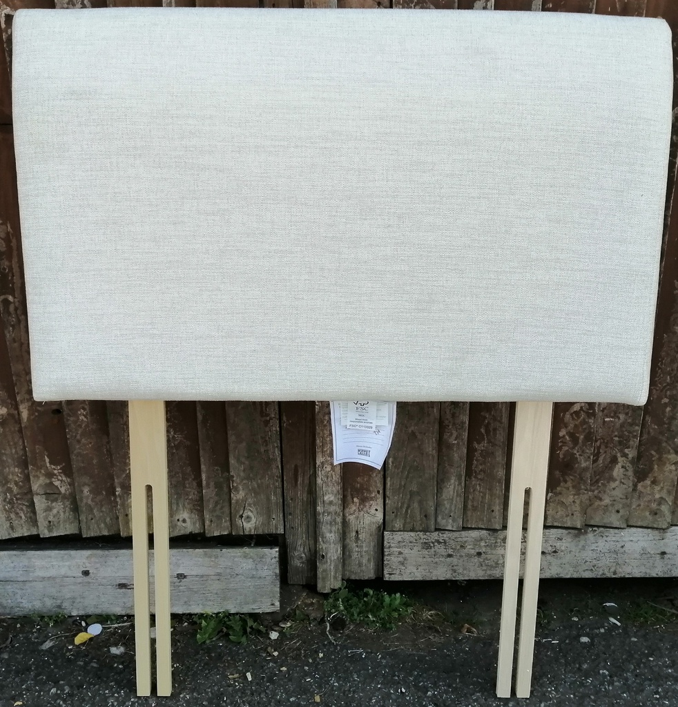 3ft EX SHOWHOUSE Tall Headboard