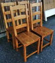 4 x Ladder Back Chairs