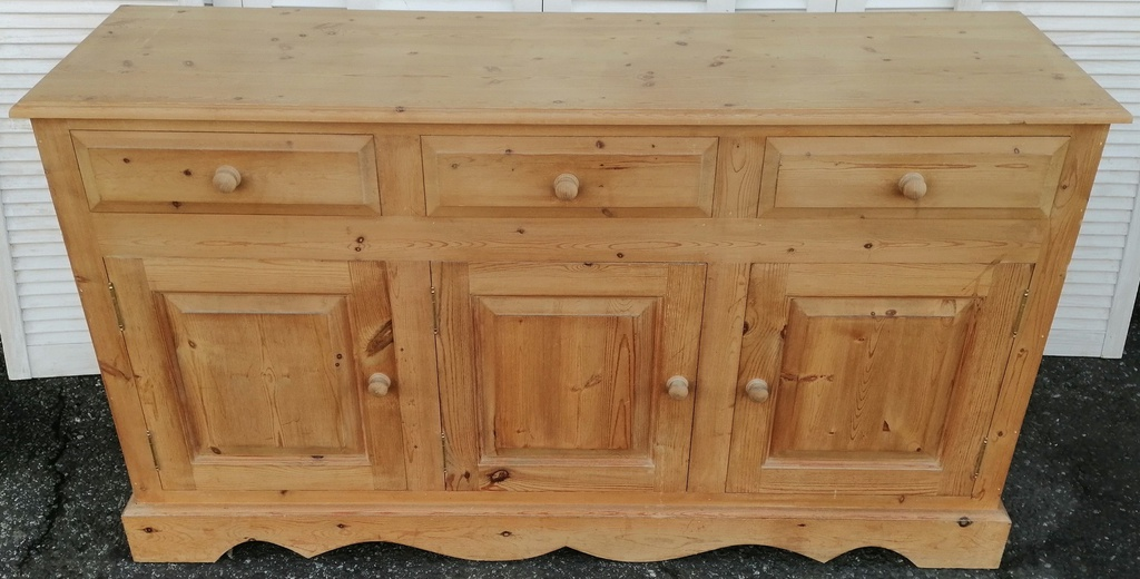 Solid Pine Triple Sideboard