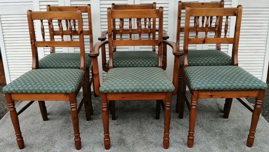 6 x DUCAL Dining Chairs