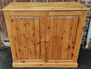 Large Country Pine Cupboard