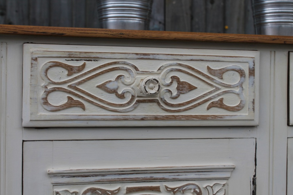 Shabby Chic Painted Sideboard
