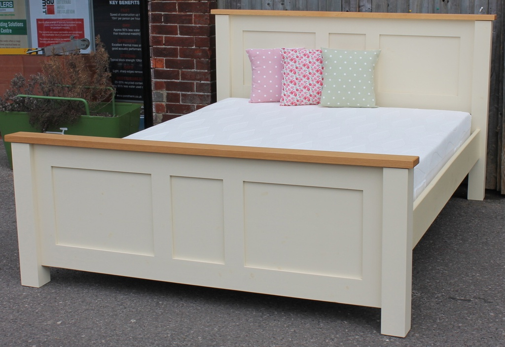 Cream 5ft Bed Frame