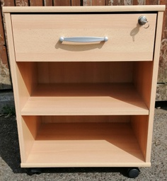 [HF1104] Side Cabinet - Lockable Drawer
