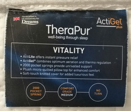 [18135] 6ft TheraPur 'VITALITY' Mattress