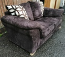 Brown Cord Sofa