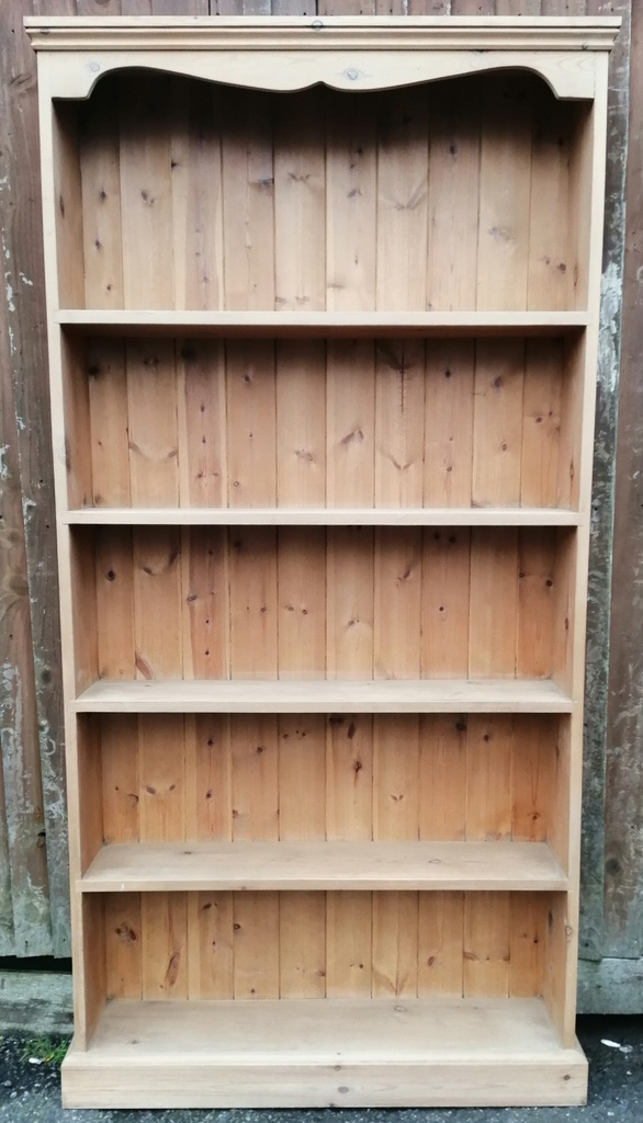 Neat Pine Bookcase