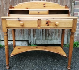 [19049] Ducal 'Victoria' Pine Console / Dressing Table